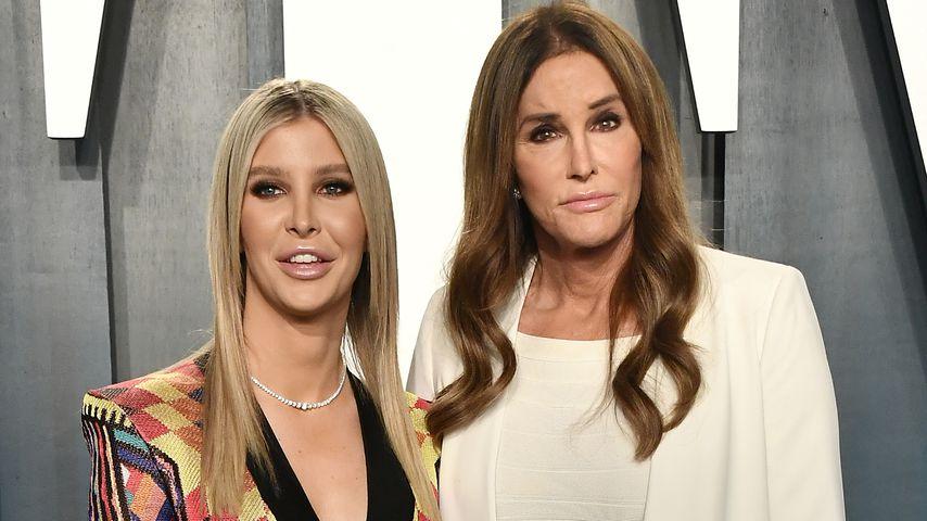 Sophia Hutchins und Caitlyn Jenner bei der Vanity Fair Oscar Party, 2020