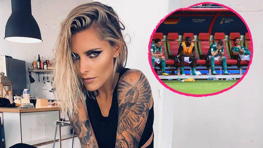 """WM-Aus: Die """"Sch***e"""" verkraftet Sophia Thomalla erst 2019"""