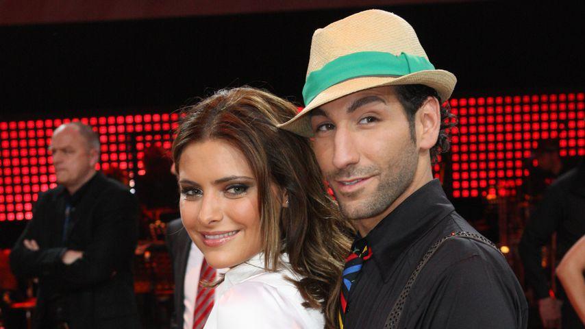 """Sophia Thomalla und Massimo Sinató in der dritten """"Let's Dance""""-Staffel, 2010"""