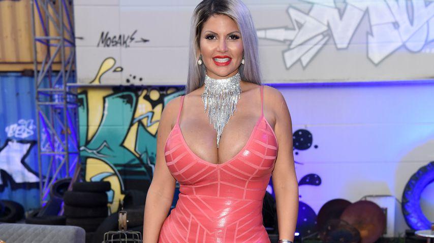 "Sophia Vegas beim ""Promi Big Brother""-Finale 2018"