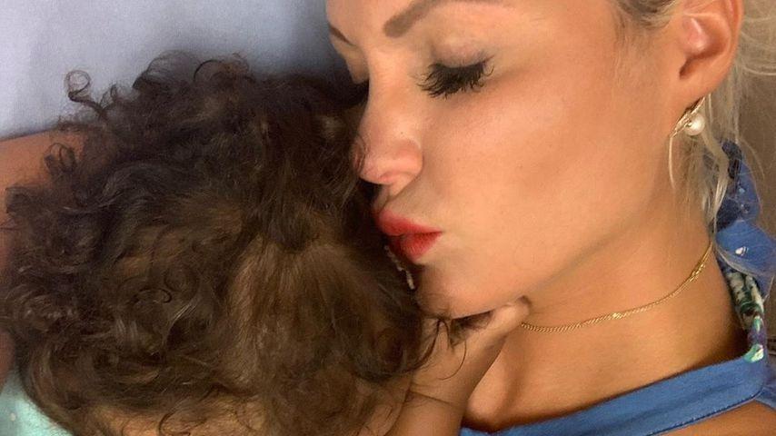 Sophia Vegas und ihre Tochter Amanda