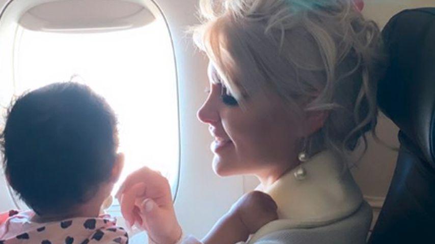 Sophia Vegas mit Tochter Amanda, Februar 2020