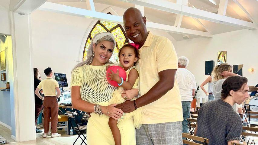 Sophia Vegas mit ihrem Mann Daniel und ihrer Tochter Amanda