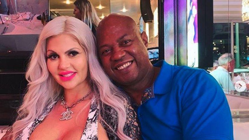 Sophia Vegas und Daniel Charlier im April 2019