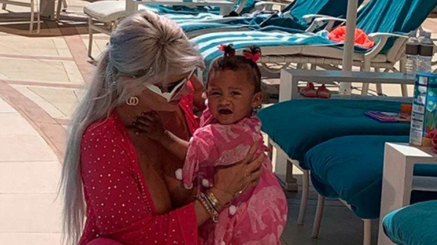 Sophia Vegas mit ihrer Tochter Amanda