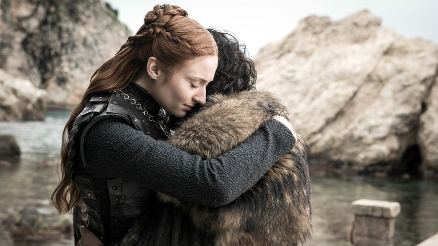 """Sophie Turner und Kit Harington in der achten """"Game of Thrones""""-Staffel"""