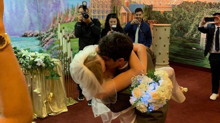 Sophie Turner und Joe Jonas bei ihrer Hochzeit in Las Vegas 2019