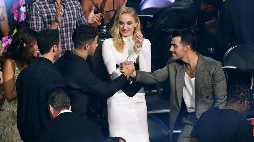 Sophie Turner und Joe Jonas im Publikum bei den MTV Video Music Awards, 2019