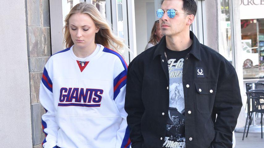 Sophie Turner und Joe Jonas in Studio City