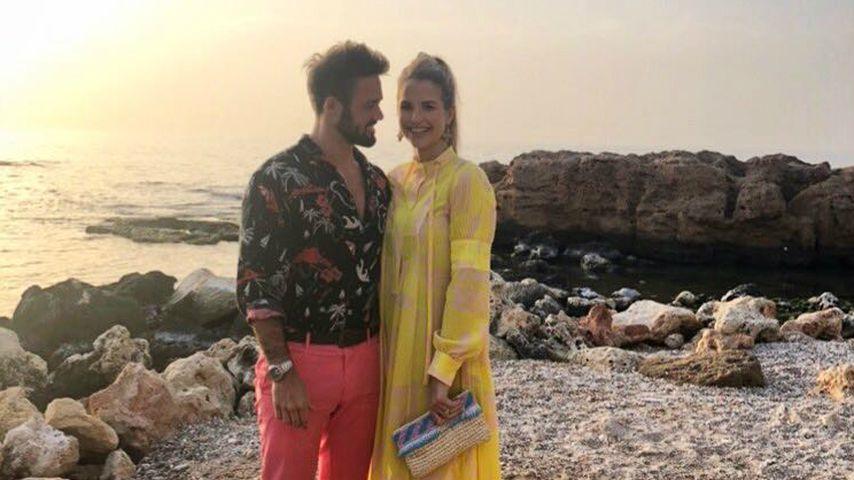 Spencer Matthews und Vogue Williams im Griechenlandurlaub