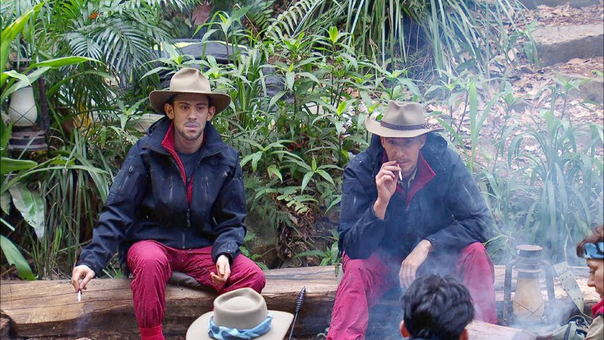 David Friedrich und Daniele Negroni im Dschungelcamp an Tag 14