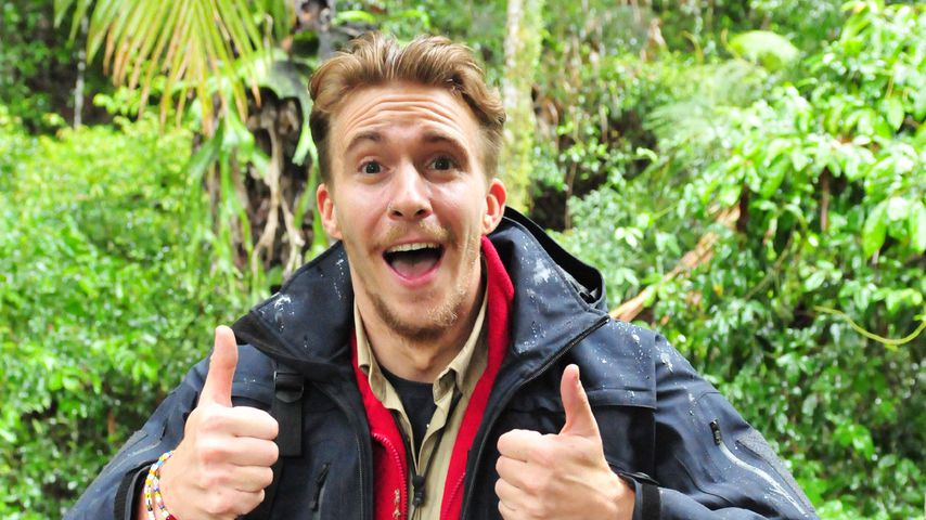 Will jeden Fan drücken: David Friedrich happy nach Dschungel