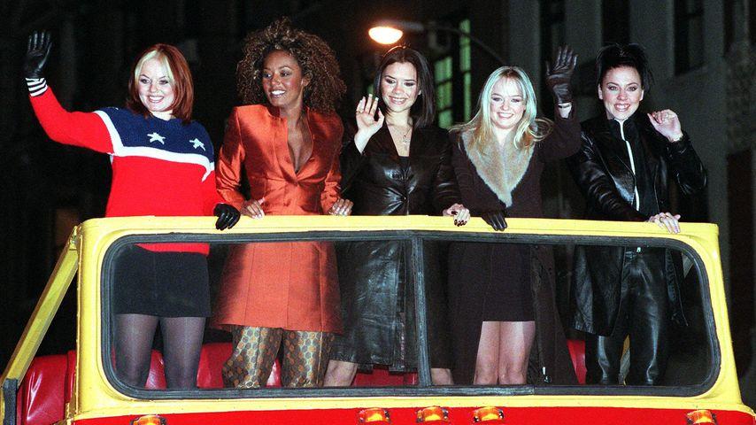 Spice Girls im Januar 1998
