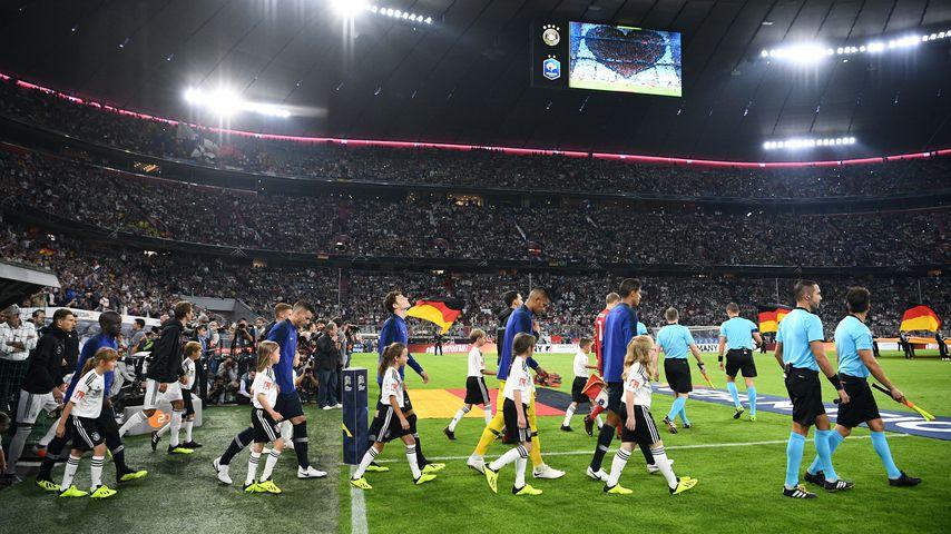 Spiel zwischen Deutschland und Frankreich im September 2018