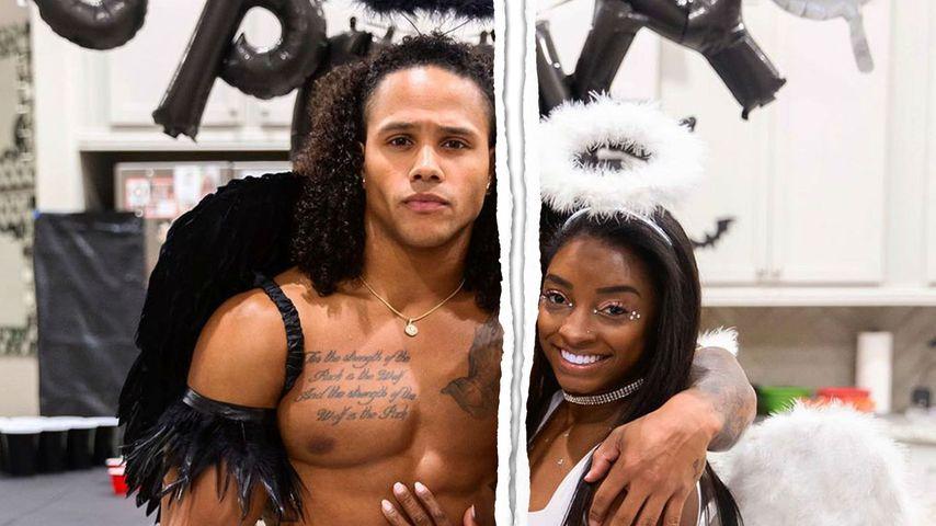 Olympia-Star Simone Biles und Stacey Ervin Jr. sind getrennt