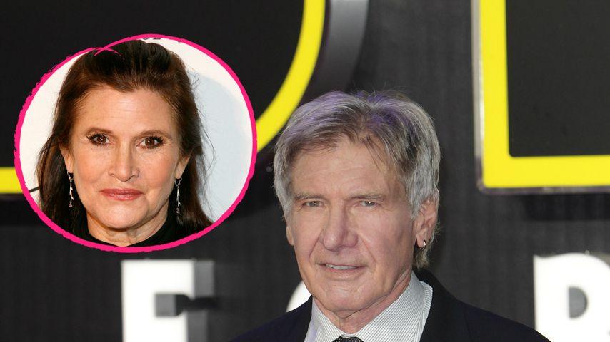 Affäre mit Carrie Fisher (†60): Jetzt spricht Harrison Ford!