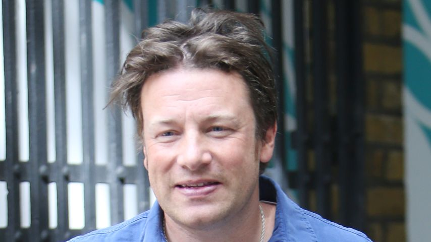 Starkoch Jamie Oliver unterwegs in London