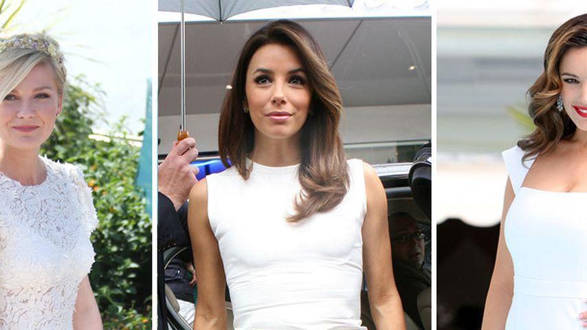 Kirsten, Eva & Co: Weiß ist Trumpf in Cannes