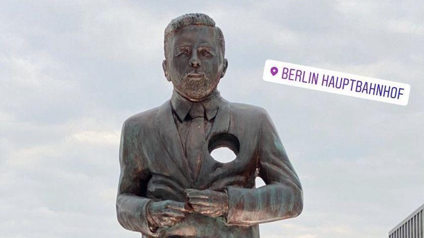 Statue von Klaas Heufer Umlauf