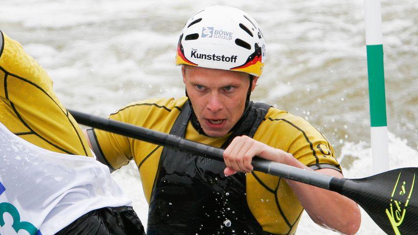 Stefan Henze beim Kanuslalom 2006