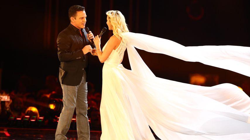 Live im TV: Stefan Mross und Anna-Carina haben geheiratet