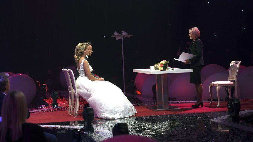 Stefan Mross und Anna-Carina Woitschack bei ihrer TV-Hochzeit im Juni 2020