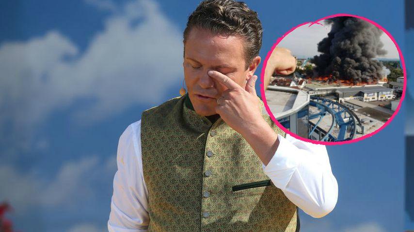 Live aus Europa-Park: Host Stefan Mross bestürzt nach Brand!