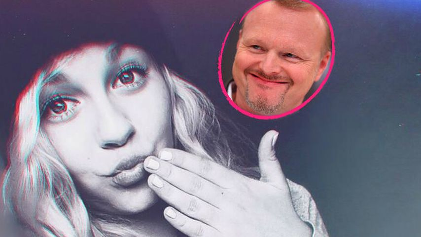 YouTube-Dagi Bee gibt Stefan Raab Schmink-Tipps