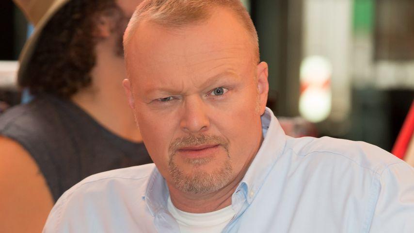 Stefan Raab auf einer Pressekonferenz 2015