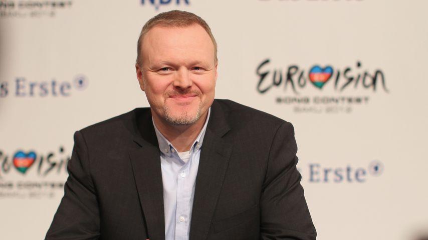 Stefan Raab bei ESC-Pressekonferenz