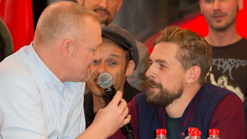 Entertainer Stefan Raab und Klaas Heufer-Umlauf