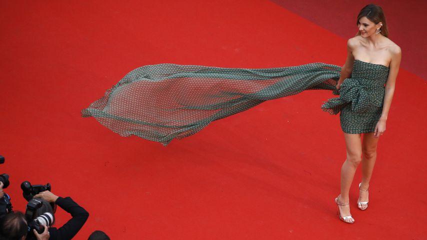 Stefanie Giesinger beim Film-Festival in Cannes