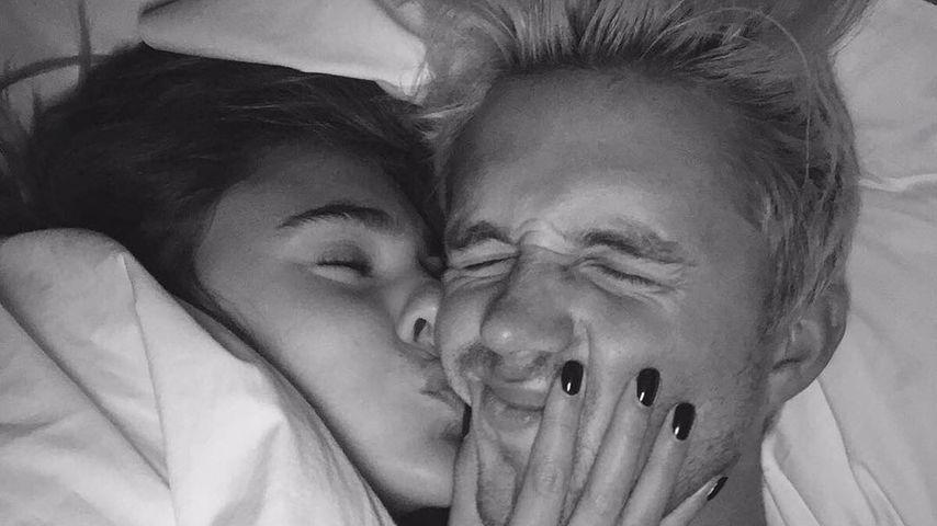 Intimer Kuss-Moment: Stefanie Giesinger & ihr Marcus im Bett