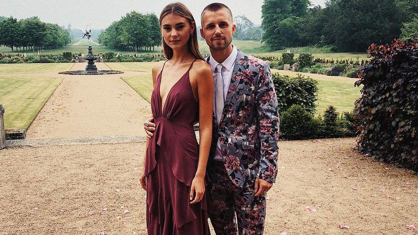Stefanie Giesinger und Marcus Butler, Mai 2018