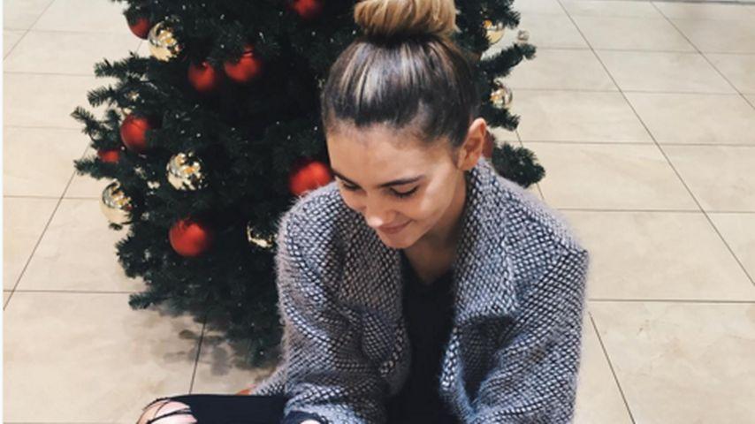 Weihnachts-Botin: Stefanie Giesinger in festlicher Stimmung