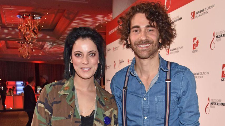 Stefanie Kloß und Andreas Nowak von Silbermond beim Musikautorenpreis 2019