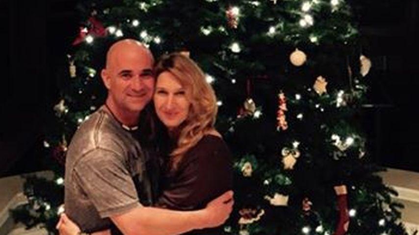 Pracht-Tanne: Steffi Graf hat einen Riesen-Baum!