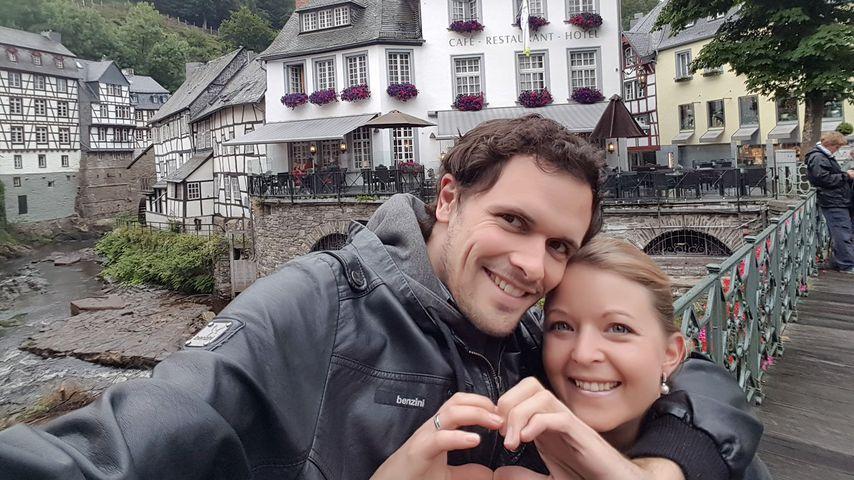 """Stephan und Ramona von """"Hochzeit auf den ersten Blick"""" an ihrem ersten Hochzeitstag"""