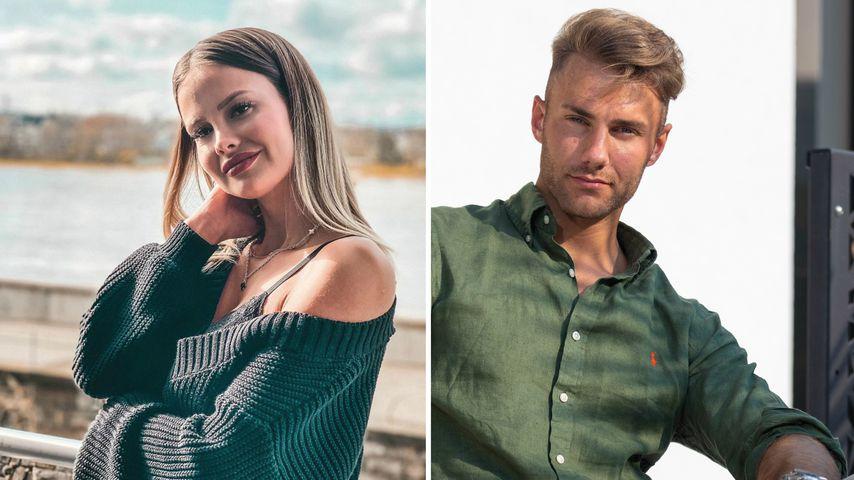 """Collage: Stephanie Schmitz und Julien Momm, """"Temptation Island V.I.P.""""-Kandidaten"""