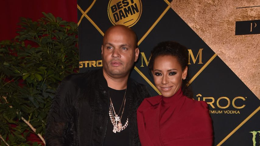 Stephen Belafonte und Mel B. bei der Maxim Hot 100 Party in Los Angeles
