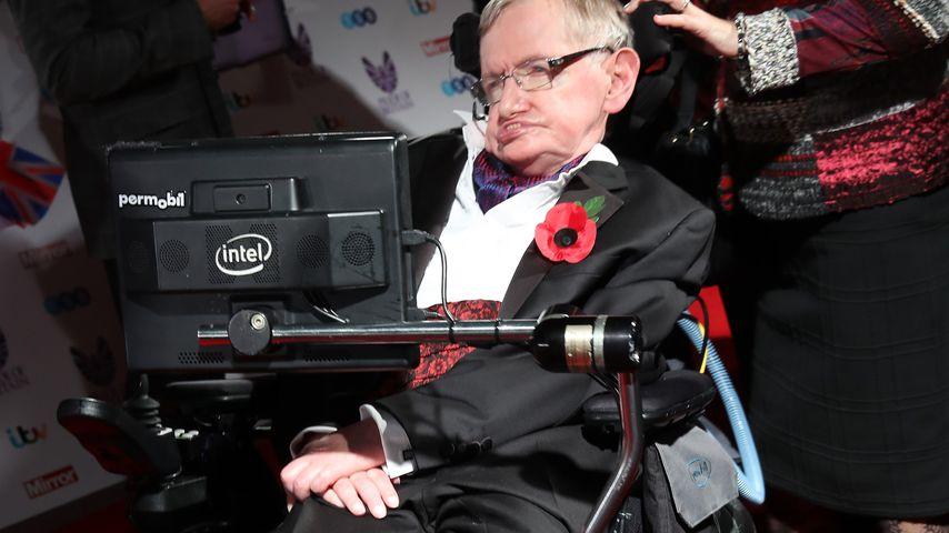 Traurig: Das war Hawkings (†76) letzter Red-Carpet-Auftritt!
