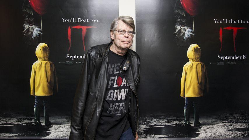 """Stephen King bei der """"Es""""-Vorstellung in Maine"""