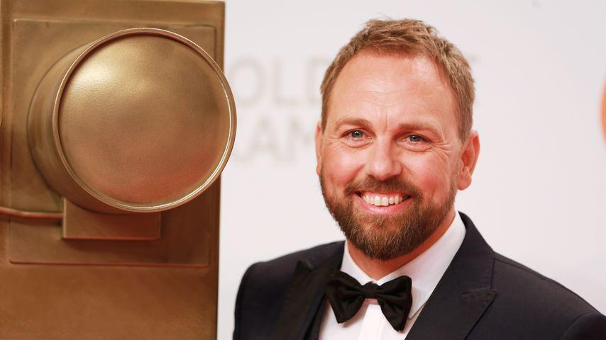 Moderator Steven Gätjen bei der Goldenen Kamera 2019