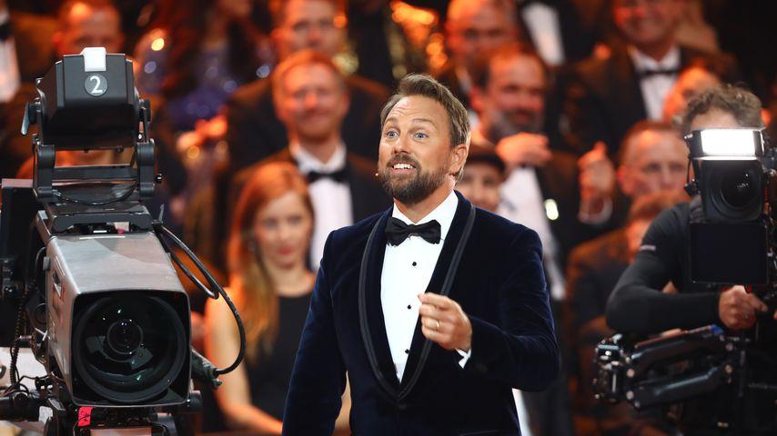 Steven Gätjen während der Verleihung der Goldenen Kamera 2018