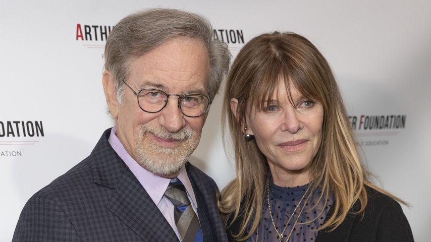 Steven Spielberg und Ehefrau Kate Capshaw 2018