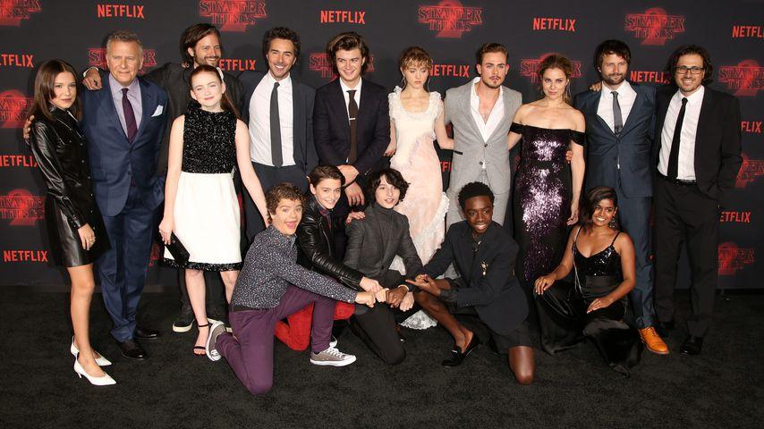 """Staffel-Drehstart: """"Stranger Things""""-Stars wieder am Set!"""