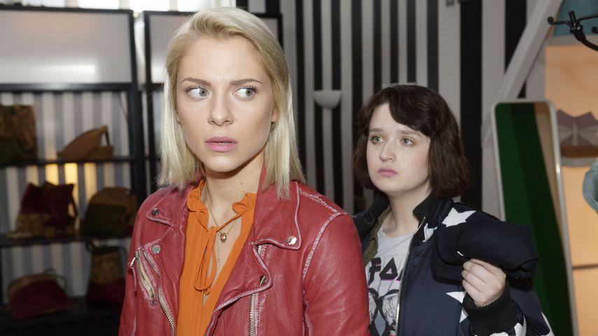Sunny (Valentina Pahde) und Karla (Janina Kranz) bei GZSZ