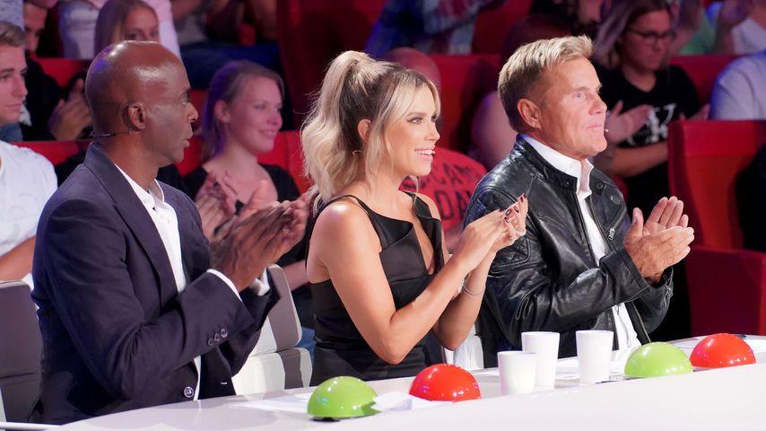 """Bruce Darnell, Sylvie Meis und Dieter Bohlen, """"Das Supertalent""""-Jury 2018"""