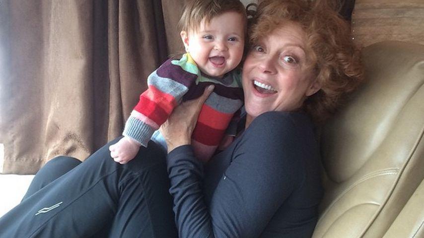 Wie Honig! Susan Sarandon zeigt ihr Oma-Strahlen
