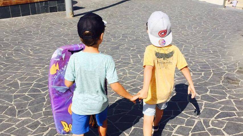 Susan Sideropoulos Kinder Liam Chaim und Joel Panagiotis